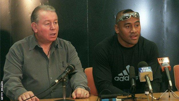 Phil Kingsley Jones managed All Blacks great Jonah Lomu for a decade