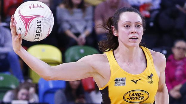 Netball Superleague 2019: Wasps move top with win over Surrey Storm thumbnail