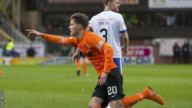 Blair Spittal ran the show for Dundee United at Tannadice