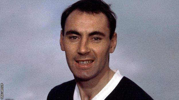 Alan Gilzean was capped 22 times for Scotland