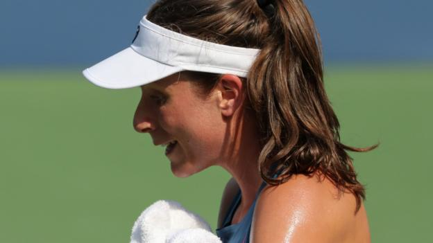 US Open 2018: Johanna Konta loses to Caroline Garcia in first round thumbnail