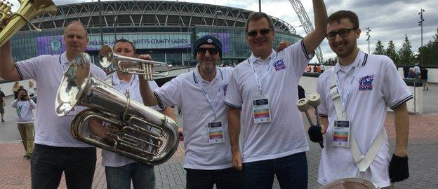 The Official England fans's band.