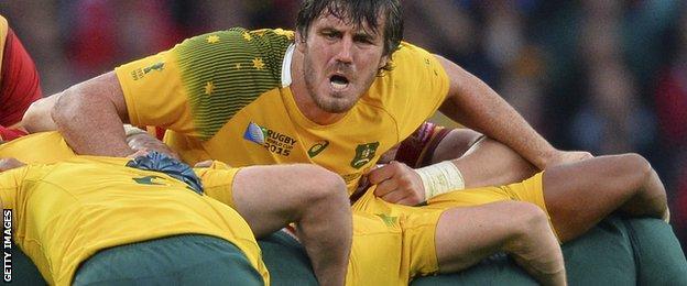 Australia's Kane Douglas