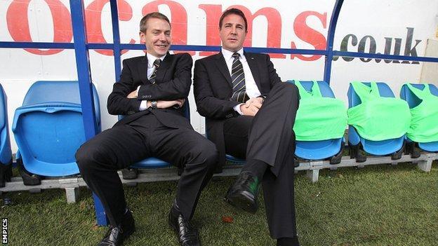 Iain Moody and Malky Mackay