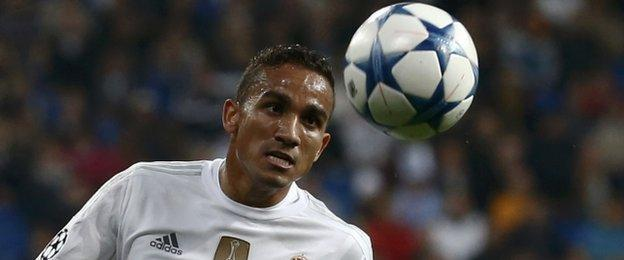 Real Madrid's Danilo
