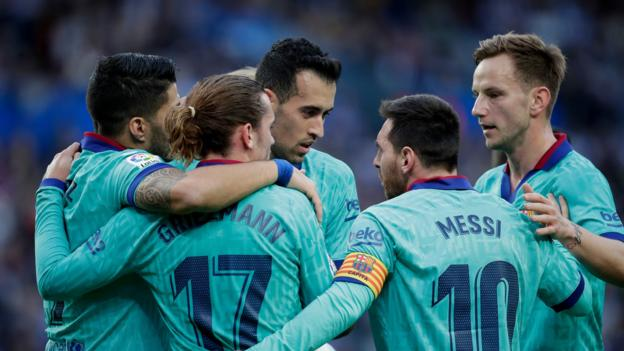 Barcelona draw 2-2 at Real Sociedad in entertaining La Liga game thumbnail