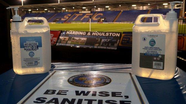 This is Shrewsbury's third home postponement inside a month after Sunderland called off their pre-Christmas visit because of a Covid outbreak