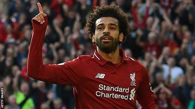 Liverpool and Egypt star Mohamed Salah