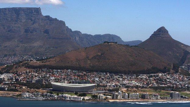 Cape Town's Green Point Stadium