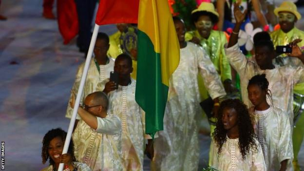 Guinea at the Olympic Opening Ceremony in 2016