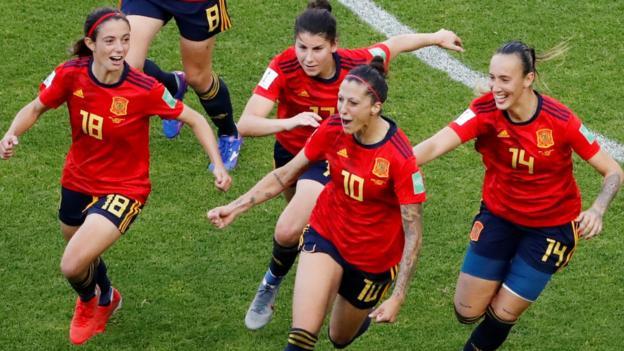 Women's World Cup: Spain Women 3-1 South Africa Women thumbnail