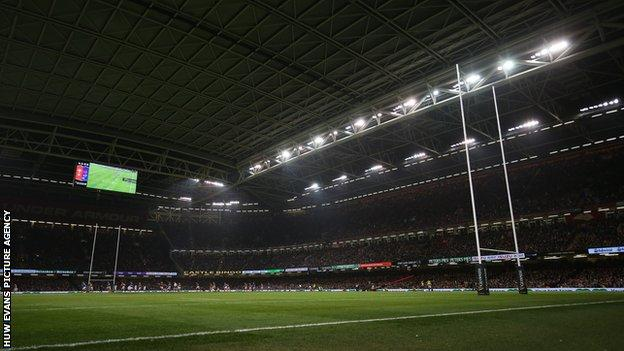 Wales v France in the Six Nations in February 2020 was the last time the Principality Stadium was full