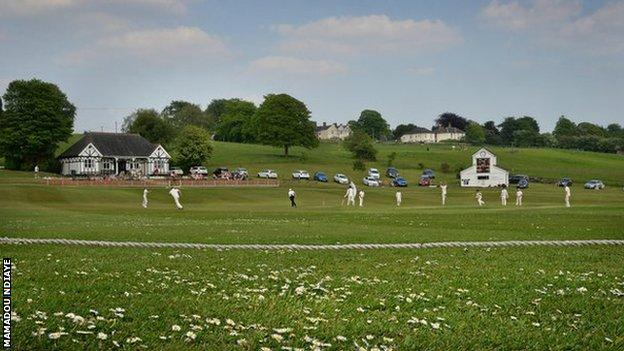 Knypersley play their home games at Tunstall Road in the Stone and District League