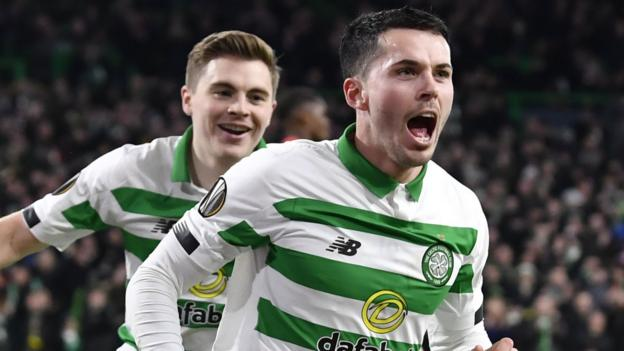 Celtic 3-1 Rennes: Neil Lennon's side top group with victory thumbnail