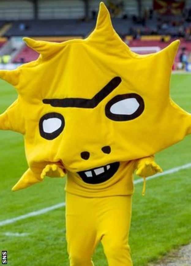 Partick Thistle's new mascot Kingsley