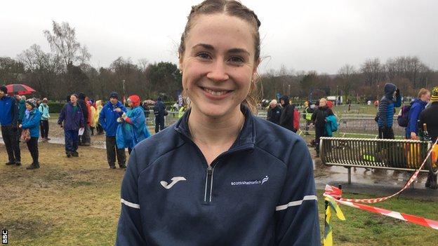 Inverness Harriers athlete Mhairi MacLennan