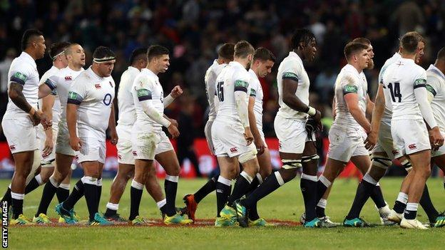 It was yet another dispiriting defeat for Eddie Jones' England