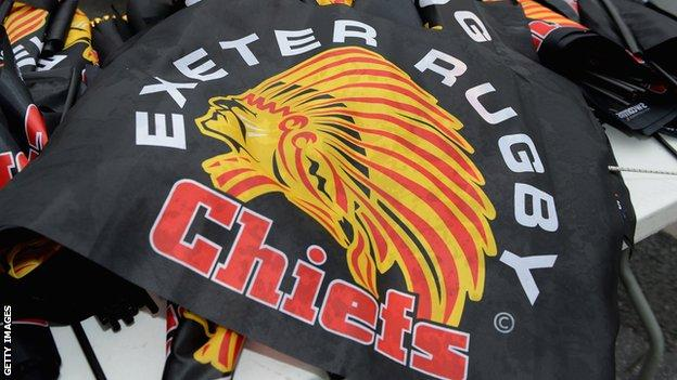 Exeter Chiefs flag