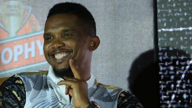 Samuel Eto'o is a four-time African Footballer of the Year