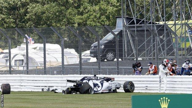 , Lewis Hamilton wins British Grand Prix after puncture on last lap