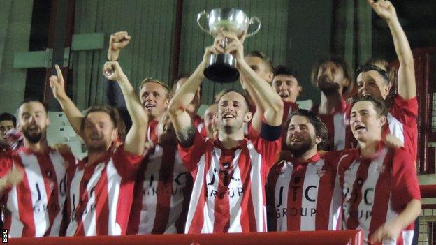 Wanderers lift the 2016 Charity Cup
