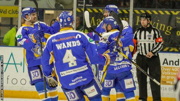 Fife Flyers hail Danick Gauthier after his goal set up a big home win over Dundee Stars