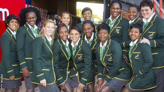 South Africa women's sevens team