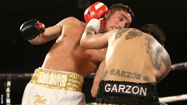 Jamie Conlan has stopped nine of his 15 opponents in his professional career