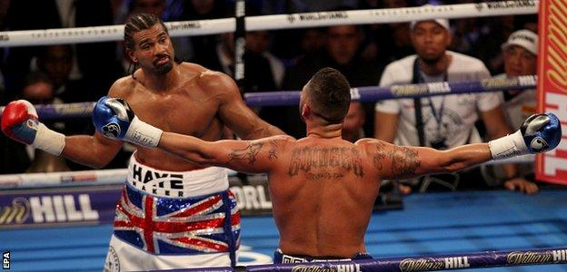 Tony Bellew and David Haye