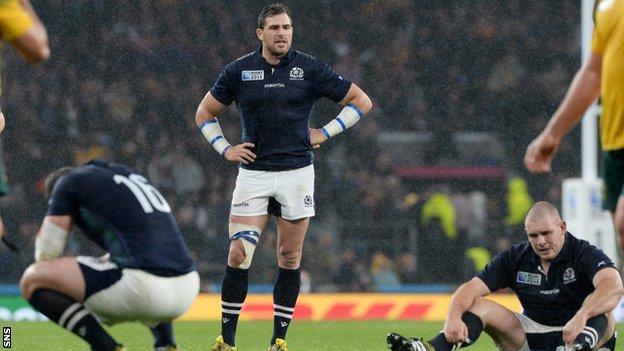 Scotland's Sean Lamont