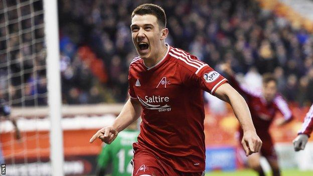 Ryan Jack has replaced Russell Anderson as Aberdeen captain