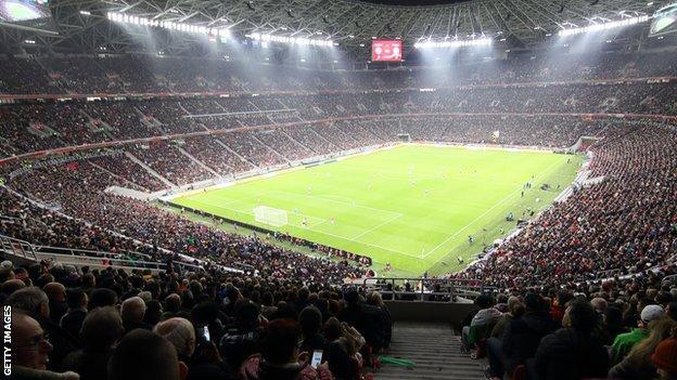 Hungary's Puskas Arena