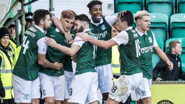 Hibs are unbeaten in 11 matches in all competitions