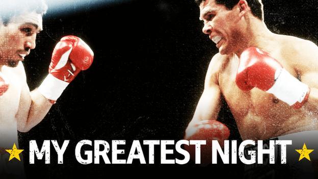 My Greatest Night Logo Chavez v Haugen