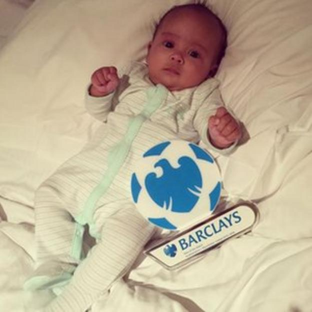 Anthony Martial's son