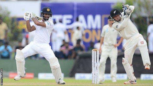 Sri Lanka v New Zealand Test match