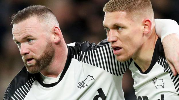 Derby County 2-1 Barnsley: Wayne Rooney captains Rams to victory against Tykes thumbnail