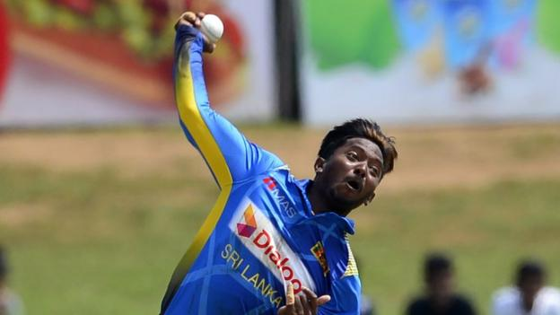 Akila Dananjaya: Sri Lanka spinner suspended for illegal action