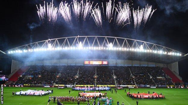 Sydney Roosters defeated Wigan Warriors 20-8 in last season's World Club Challenge at the DW Stadium
