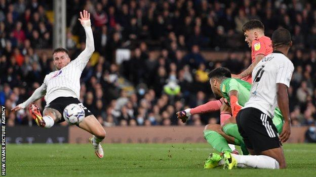 Jamie Paterson shows composure to claim his third goal since joining Swansea