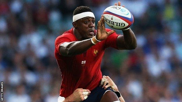 France lost 19-14 to England last weekend in a World Cup warm-up