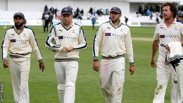 Yorkshire players