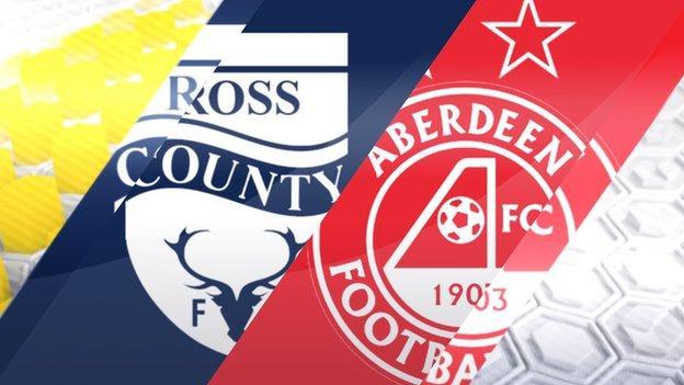 Ross County v Aberdeen