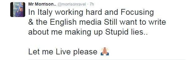 Ravel Morrison Twitter