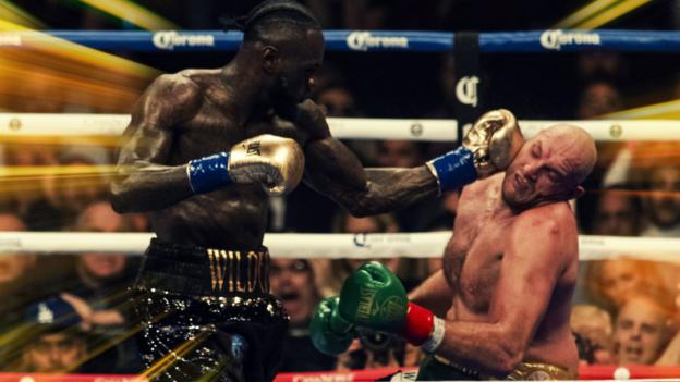 Tyson Fury v Deontay Wilder: A knockdown, a fightback, a heated corner and a rematch thumbnail