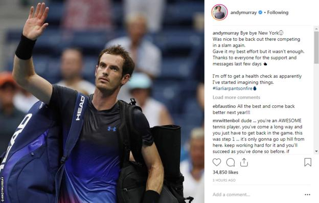 Andy Murray instagram