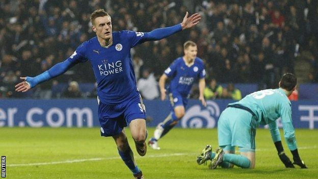 Jamie Vardy has flourished at Leicester after being let go by Sheffield Wednesday at 16