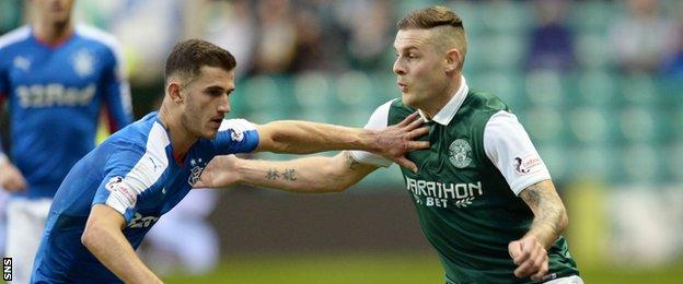 Dominic Ball (left) and Anthony Stokes