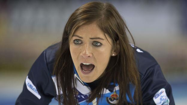 Eve Muirhead: GB curling skip pushes through pain for 'last' Olympic place thumbnail