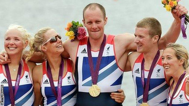 David Smith and the mixed coxed four